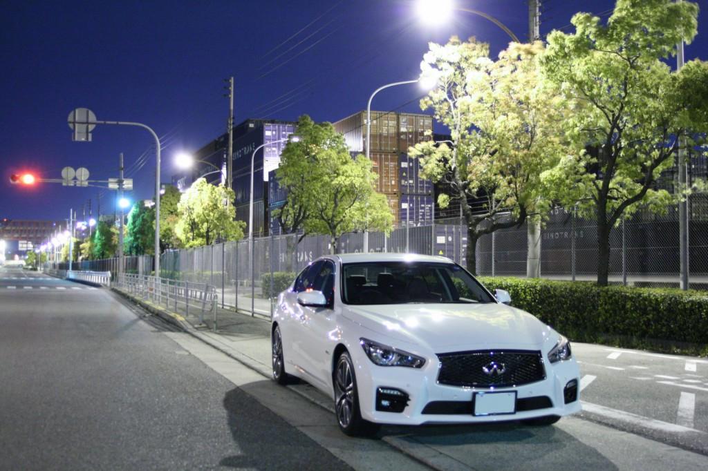 納車日に夜景(;・∀・)